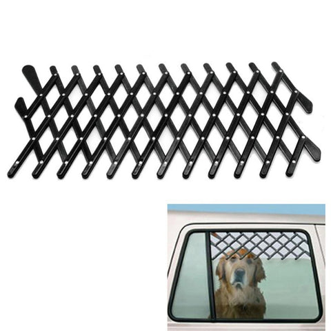 Expandable Car Window Gate Magic-Gate Dog Ventilation Safe Guard Grill