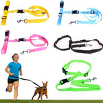 2.5m Dogs Leash Running Hand Freely Harness Collar