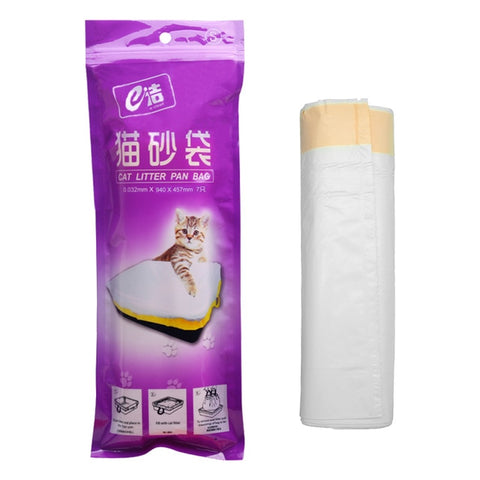 7pcs/Bag Cat Litter Hygienic Litter Box Liners