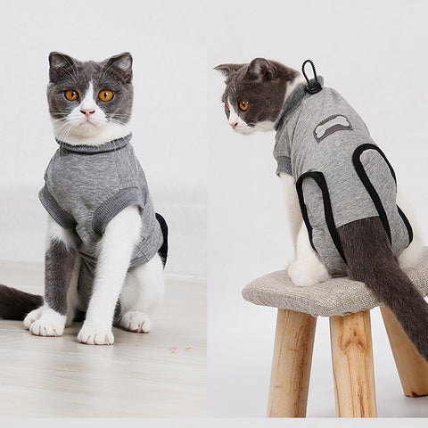 Cat Recovery After Surgery Clothing Wound Anti-mite Sterilization Suit