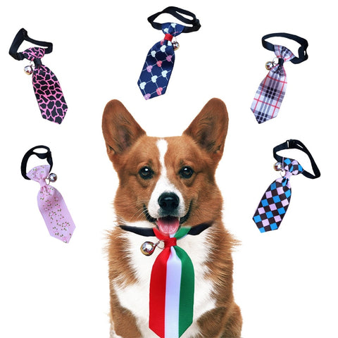 Pet Dog Neck Tie Adjustable Dog Cat Bow  for Small Medium Dogs Pet Supplies