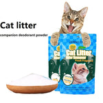 350g/bag Cat Litter Deodorizing Powder Removing Cat Excrement Odor