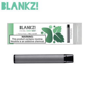 BLANKZ! Sweet Mint Disposable - BLANKZ! Pods