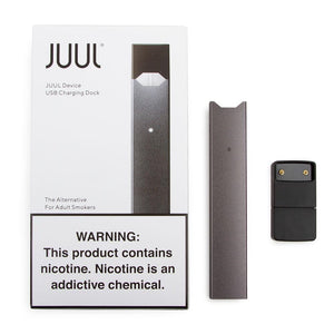 JUUL Device Kit: Slate - BLANKZ! Pods