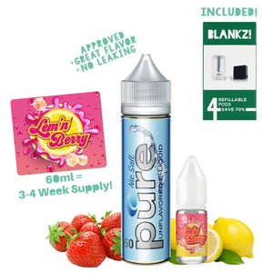 Create Your Own Lem'n Berry E-Liquid - BLANKZ!