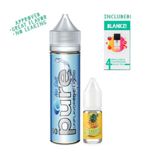 Create Your Own Fruit Flavors! Pineapple Mango 50mg - BLANKZ! Pods