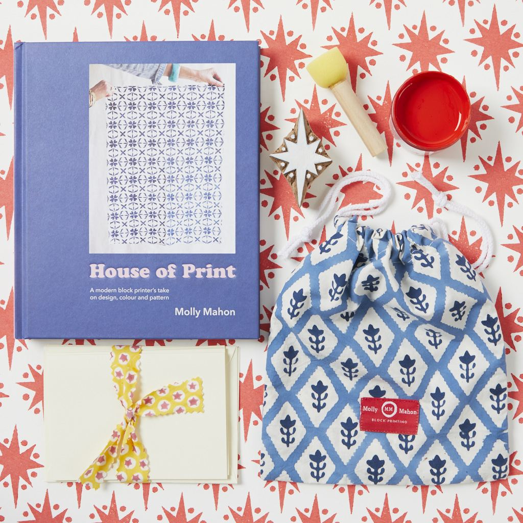 House of Print and Card Kit - Star - Red