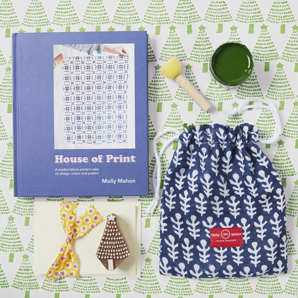 House of Print and Card Kit -  Tree - Green