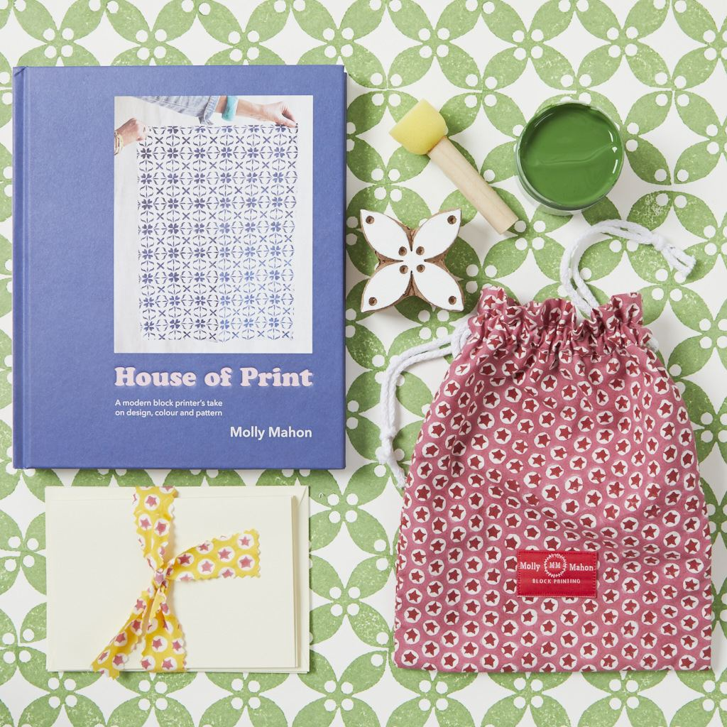 House of Print and Card Kit -  Petal - Green