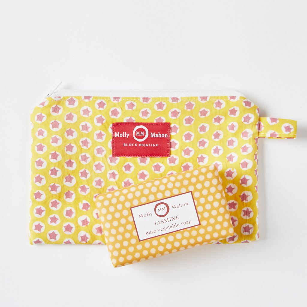 Purse + Soap - Yellow - Jasmin