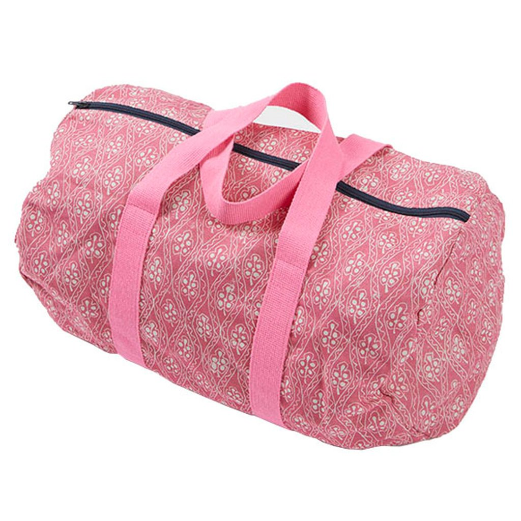Weekend Bag - Wiggie & Leaf - Pink