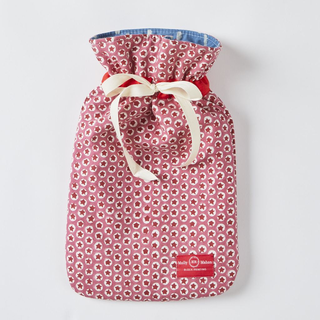 Hot Water Bottle - Tuk Tuk - Pink
