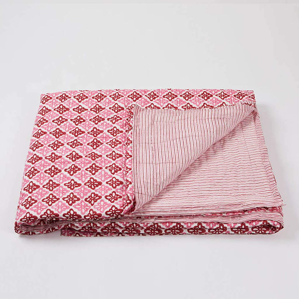 Quilts - Pattee - Pink - King Size