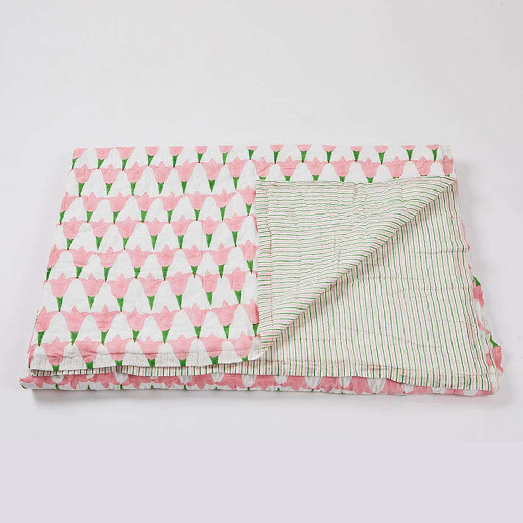 Quilts - Tulip - Pink - Single