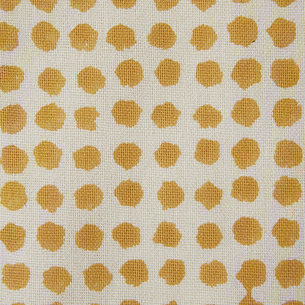 Fabric - Seed - Cotton - Mustard