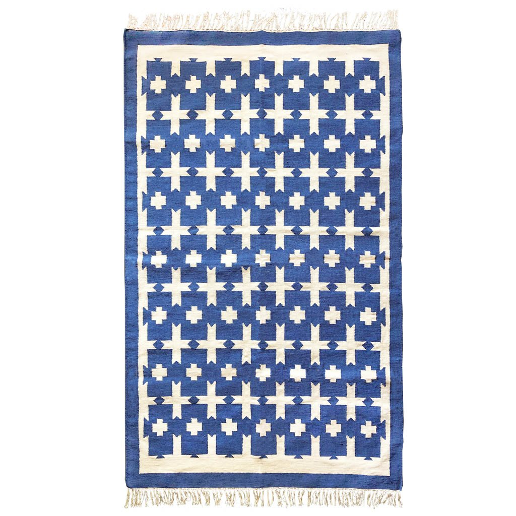 Rug - Chunky Cotton - Blue - Medium