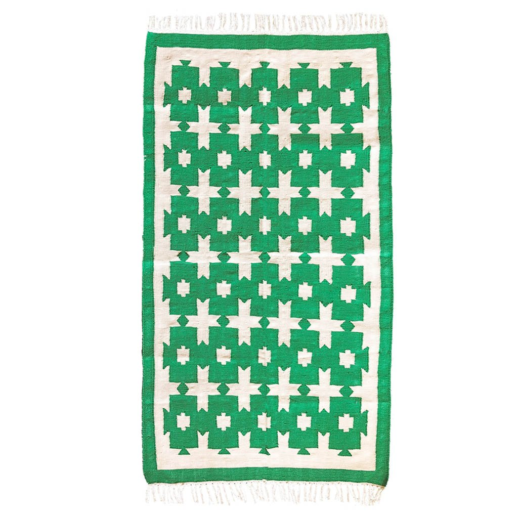Rug - Chunky Cotton - Green - Medium
