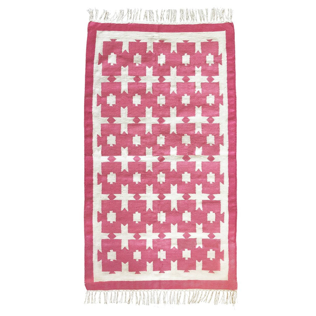 Rug - Chunky Cotton - Pink - Medium
