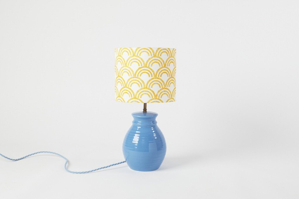 Block Print Kit - Lampshade - Rainbow - Turmeric