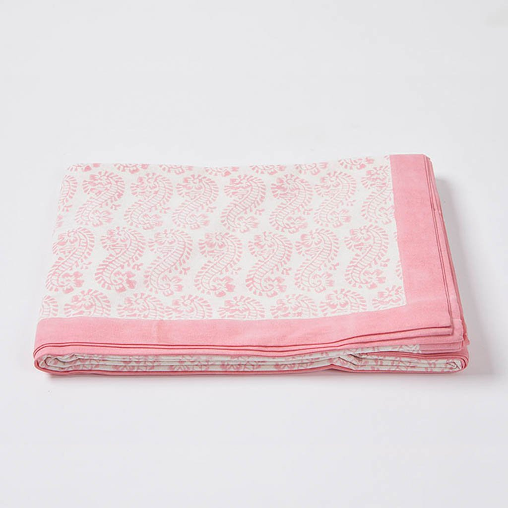 Table Cloth - Lani - Pink - Medium