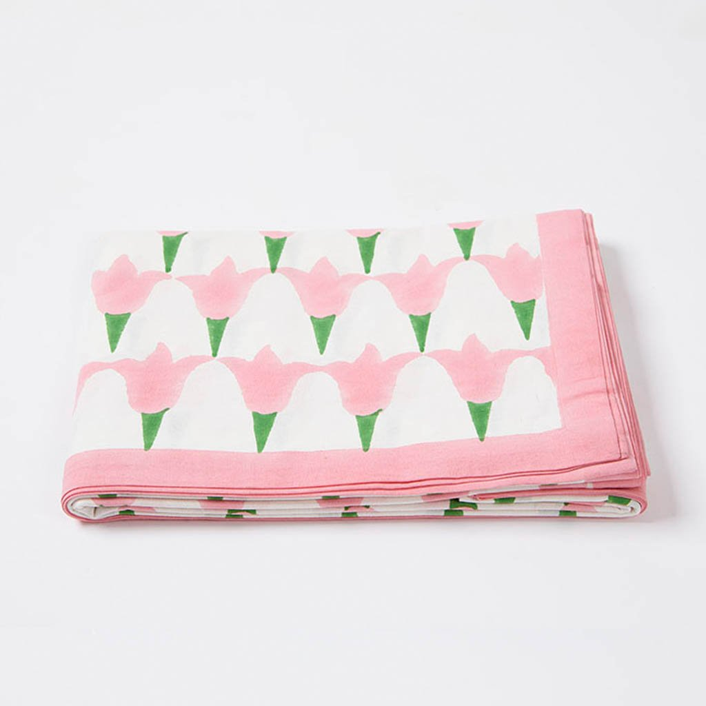 Table Cloth - Tulip - Pink - Medium