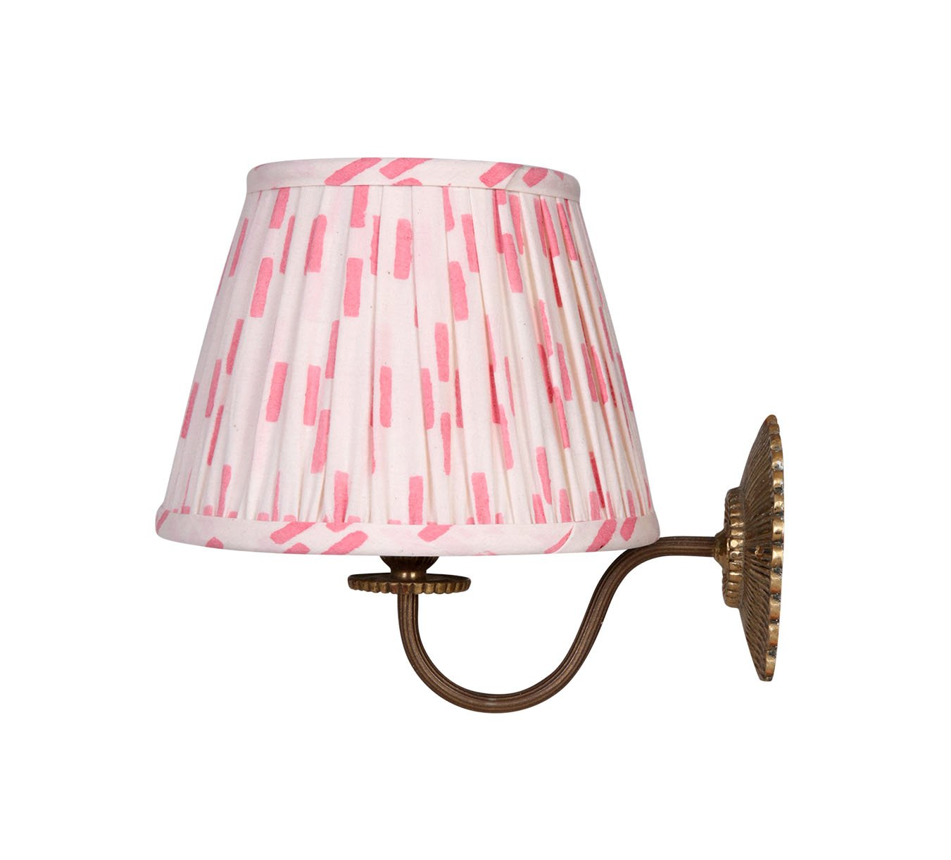 Lampshade - Mini Pleated - Dash - Pink