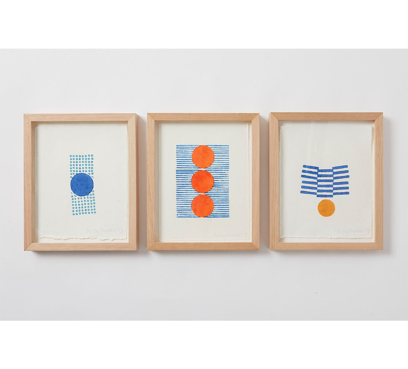 Framed - Cotton Paper Print - Trio 10