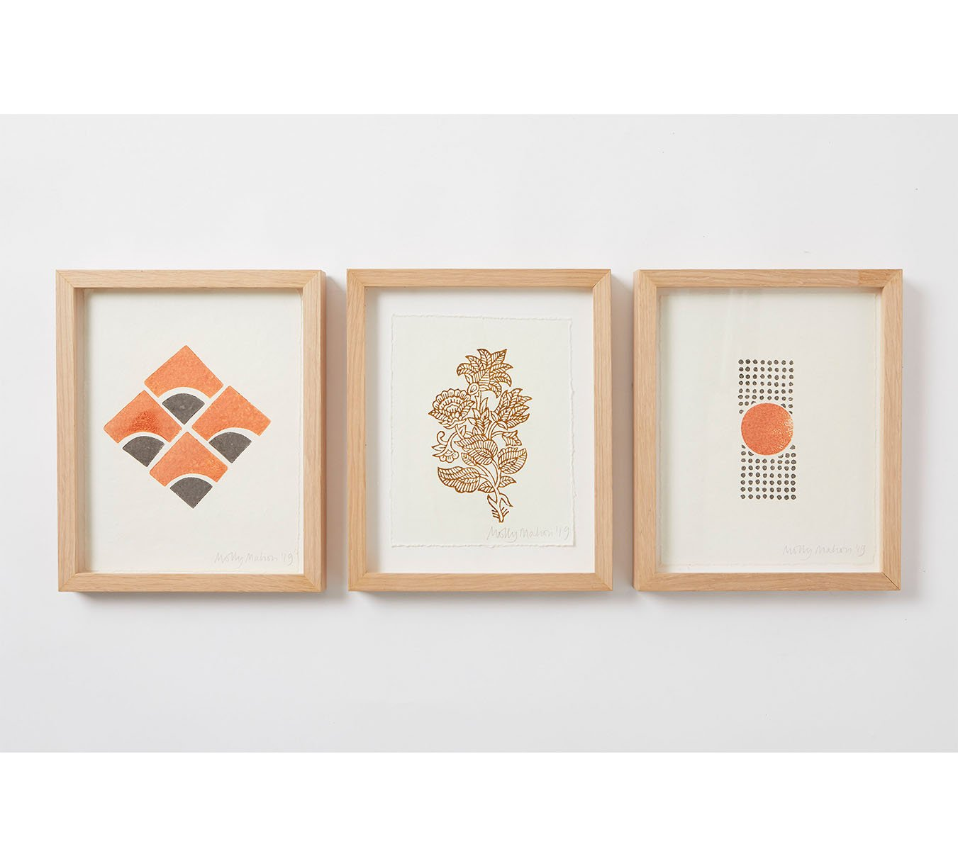 Framed - Cotton Paper Print - Trio 1