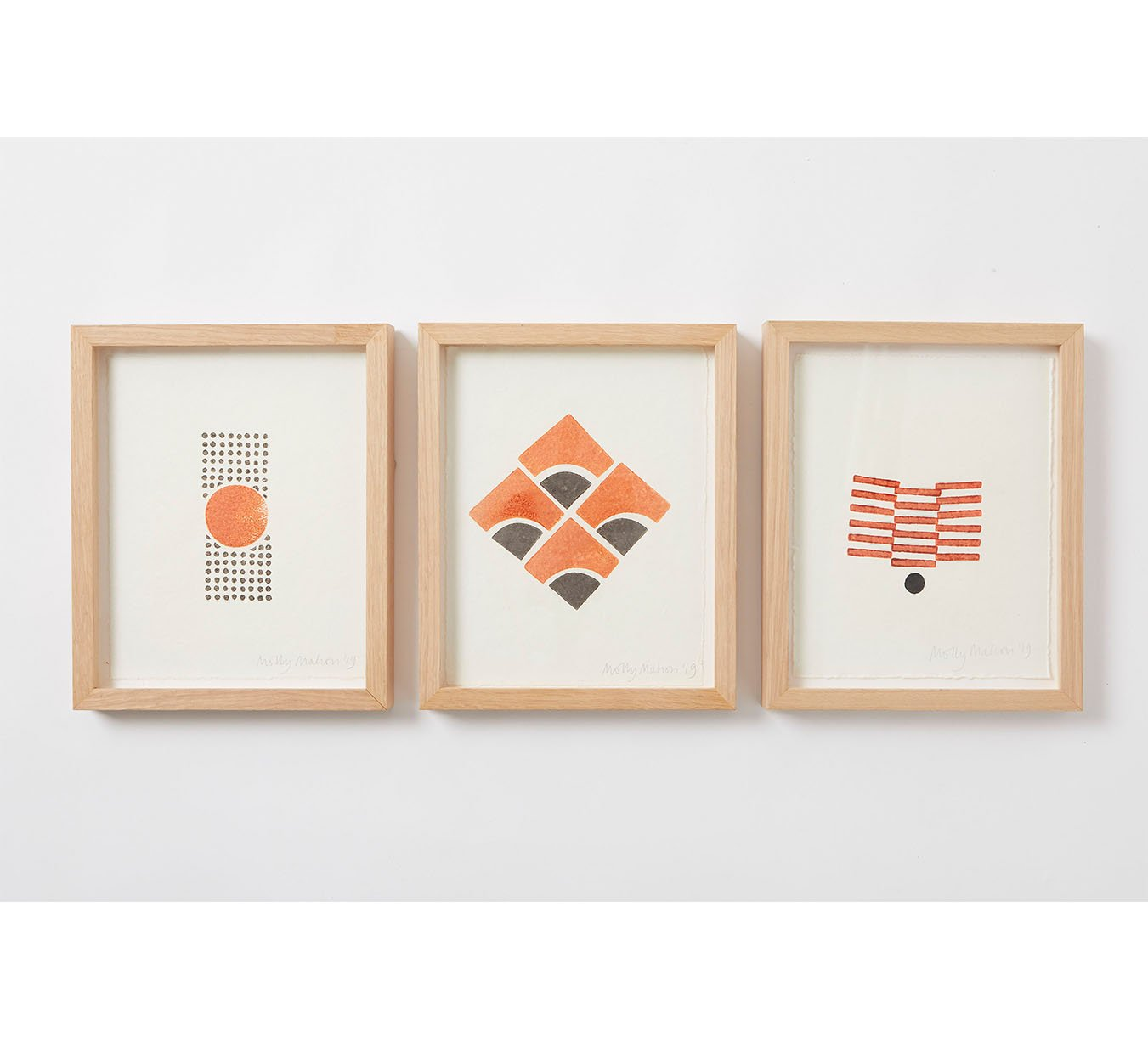Framed - Cotton Paper Print - Trio 2