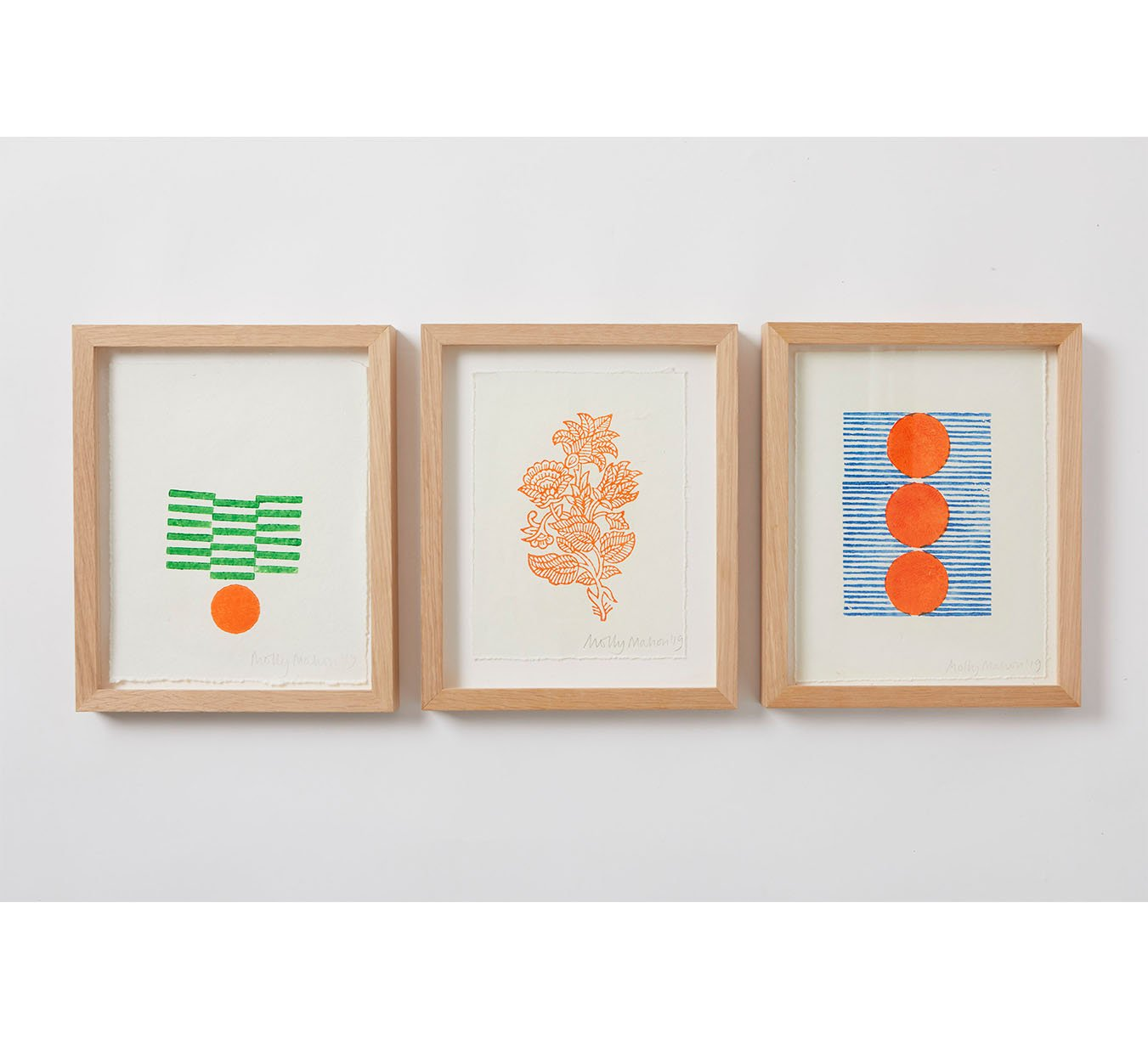 Framed - Cotton Paper Print - Trio 3