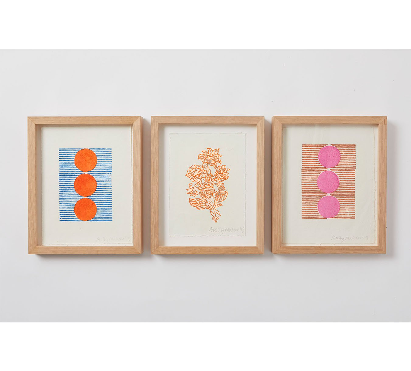 Framed - Cotton Paper Print - Trio 4
