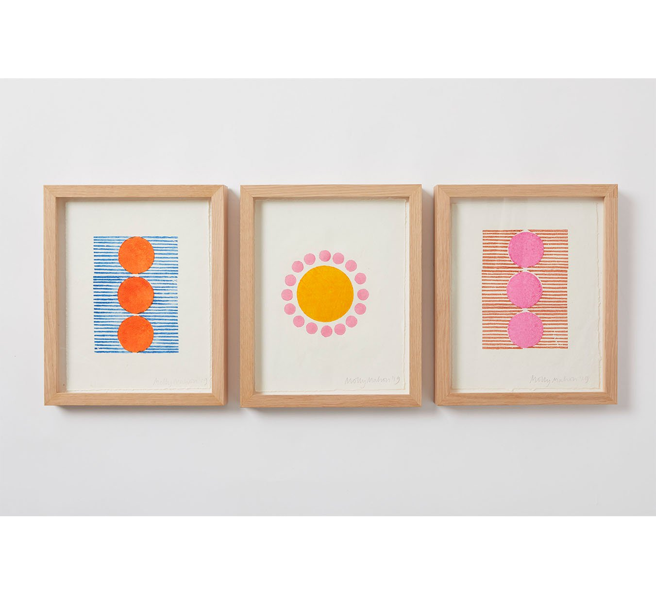 Framed - Cotton Paper Print - Trio 7