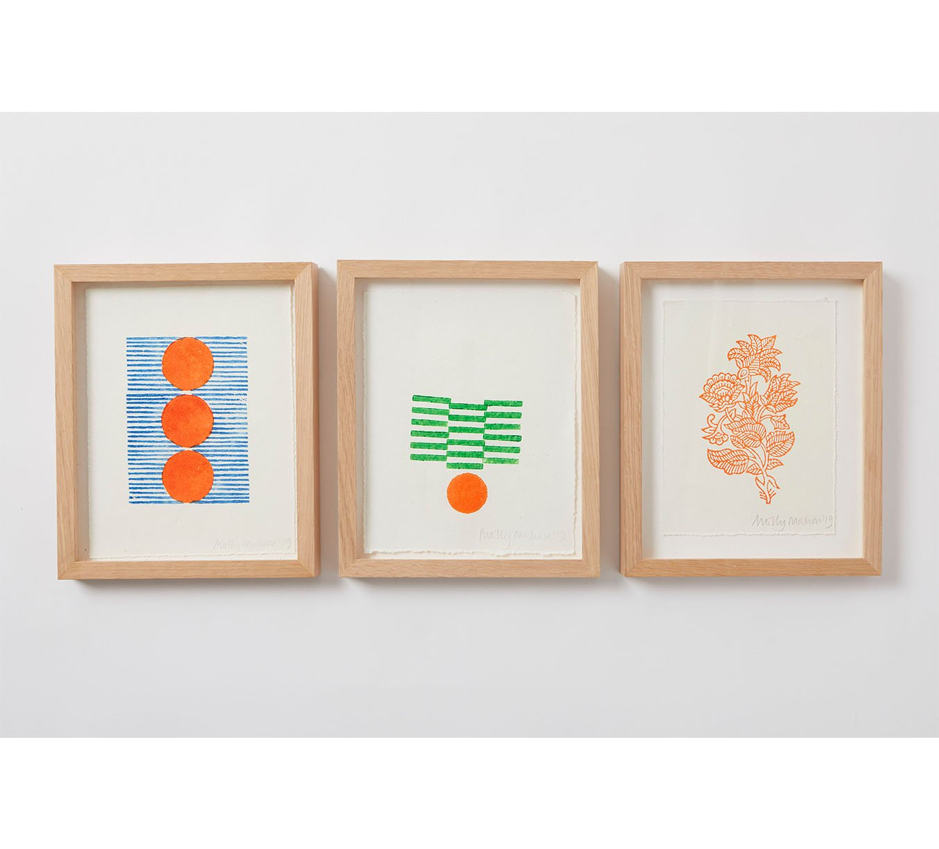 Framed - Cotton Paper Print - Trio 9