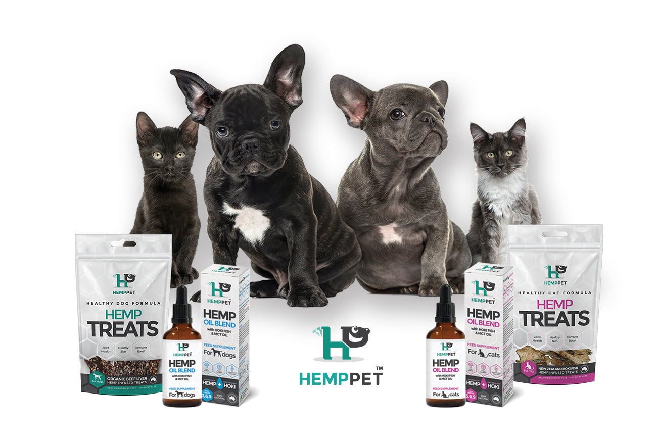 HempZone, HempPet hemp CBD treats for dogs and cats