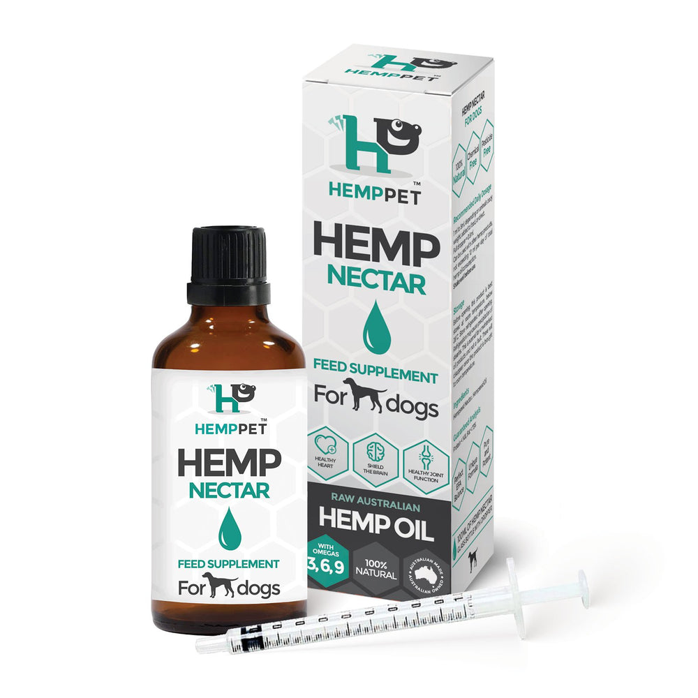 HempPet Hemp Nectar for dogs Raw hemp oil
