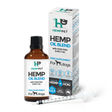 HempPet Oil blend for dogs, omega 369, hoki fish oil, mct oil HempZone