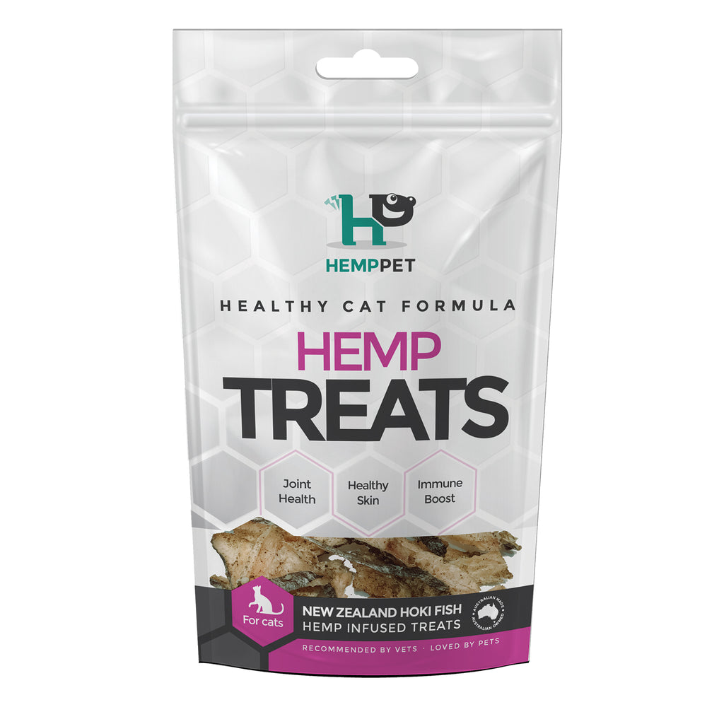 HempZone HempPet New Zealand Hoki fish hemp infused treats for cars omega 369, dha, epa