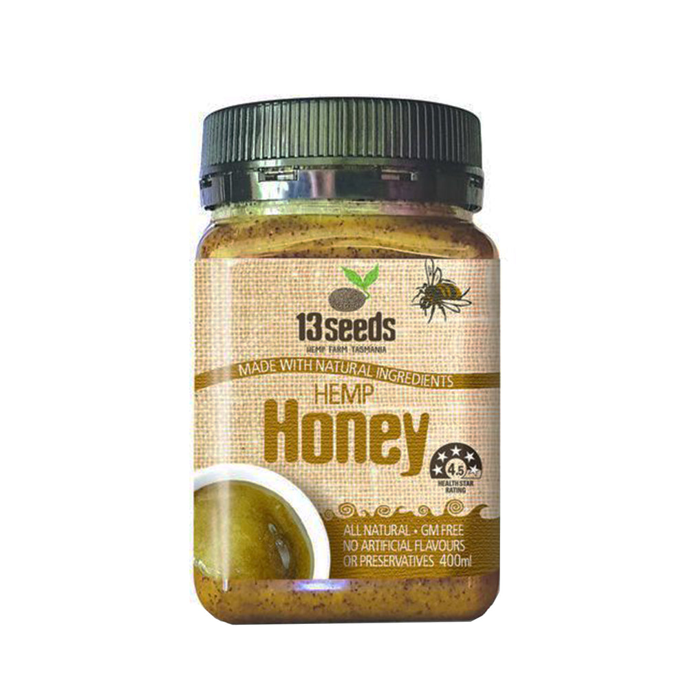 HempZone, Hemp Honey, 13 Seeds