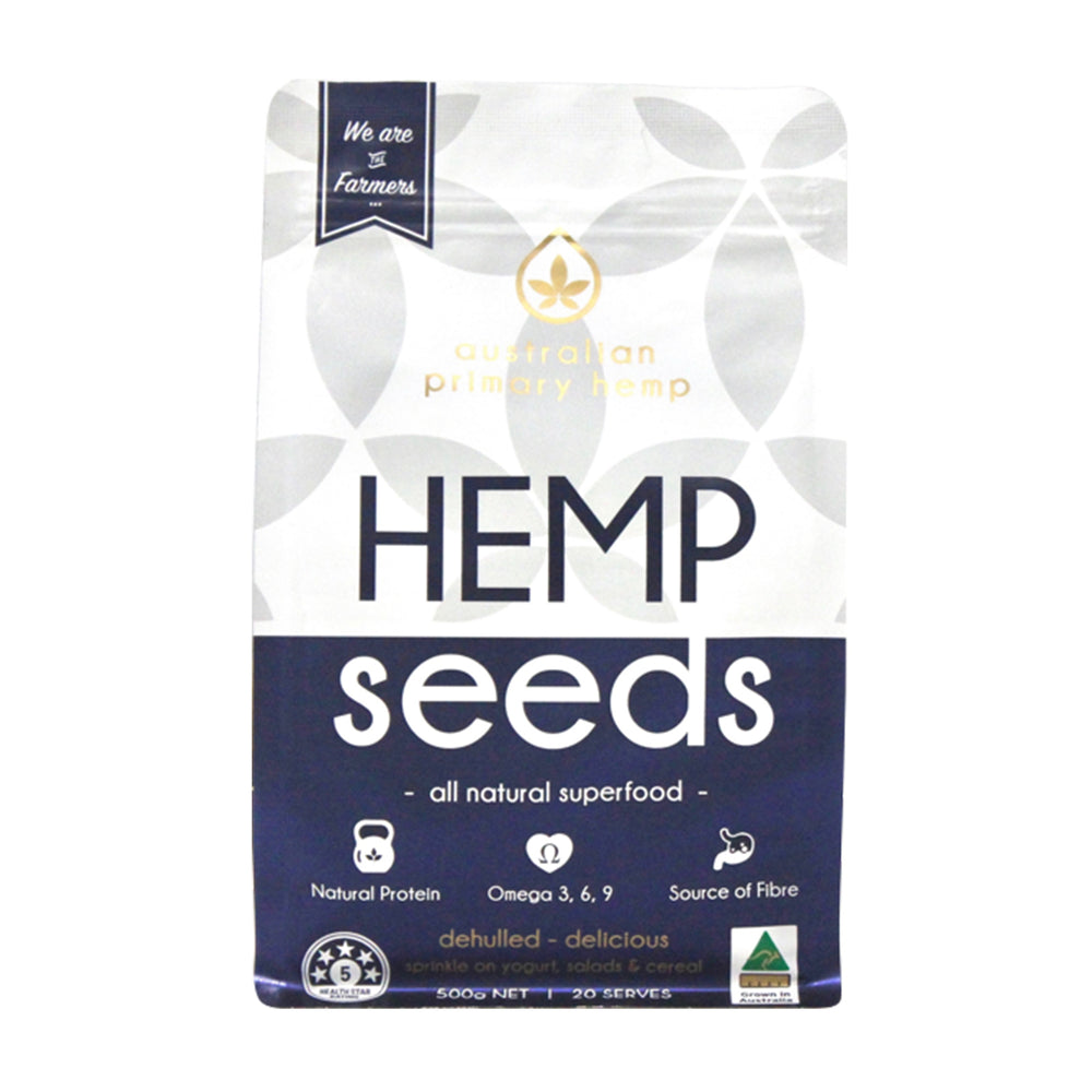 hulled hemp seeds, Australian Primary Hemp, Hemp Seeds, HempZone.com.au