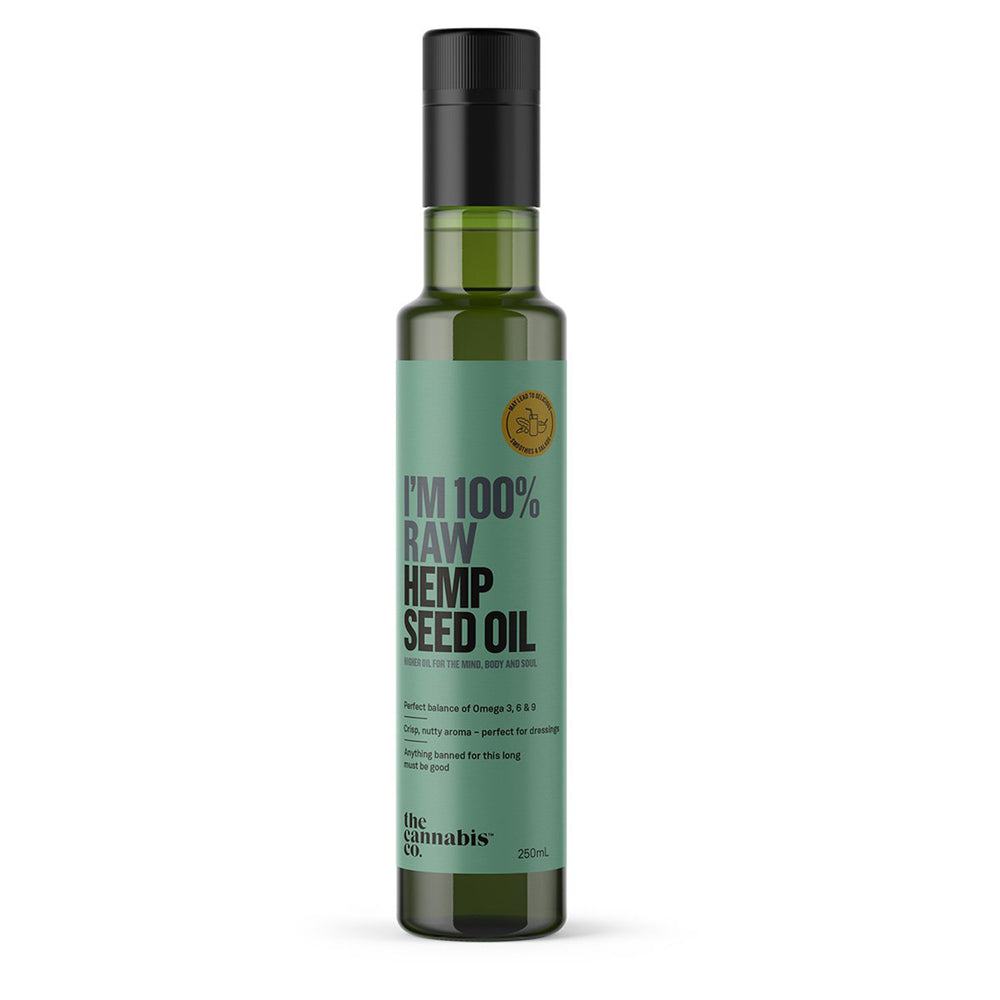 hemp oil, The Cannabis Co, Hemp Seed Oil, HempZone.com.au