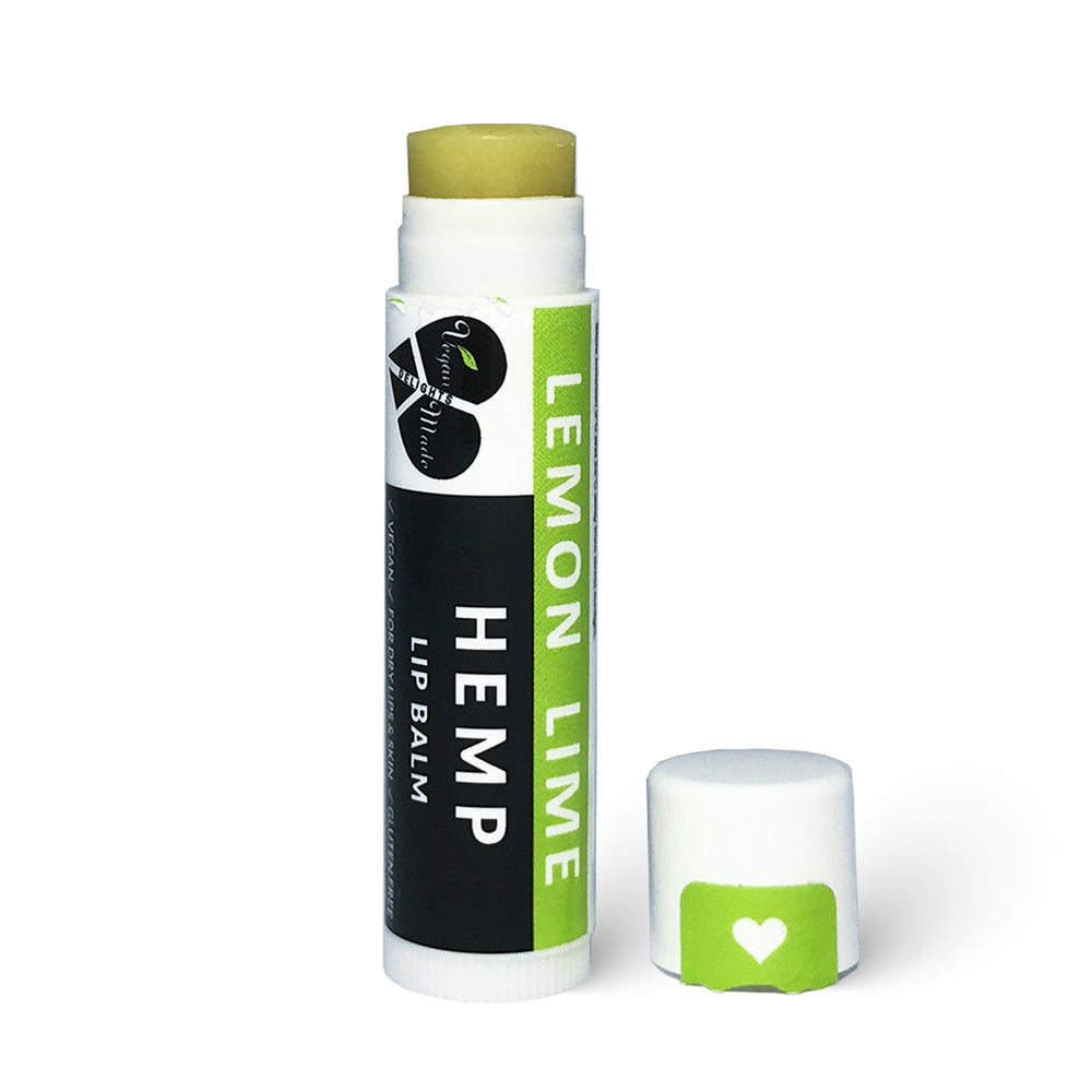 HempZone, Vegan Made Delights Hemp Lemon Lime Lip Balm