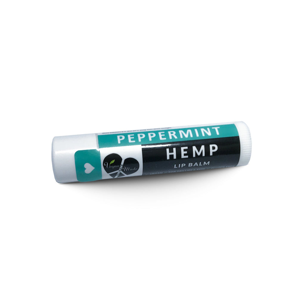 HempZone, Vegan Made Delights Hemp Peppermint Lip Balm