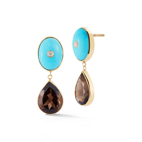 One-of-a-Kind Western Earrings