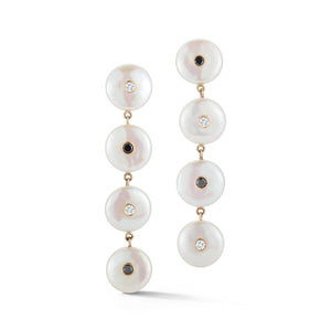 Les Perles Four Drop Earring