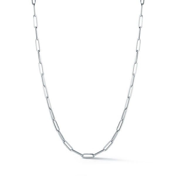 Les Classiques Large Link Hollow Handmade Gold Chain