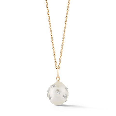 Les Perles Disco Diamond Charm