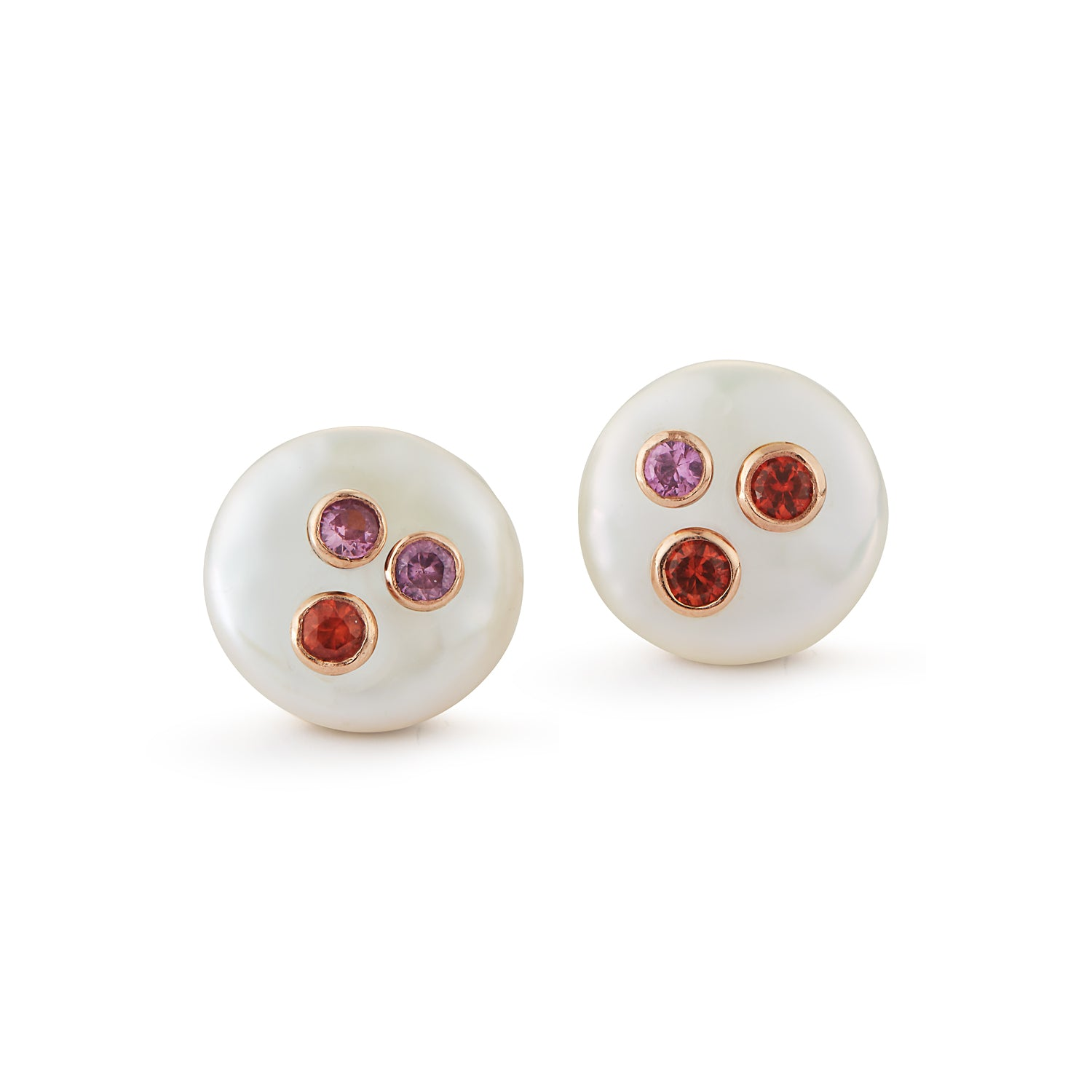 Les Perles Stud Earrings