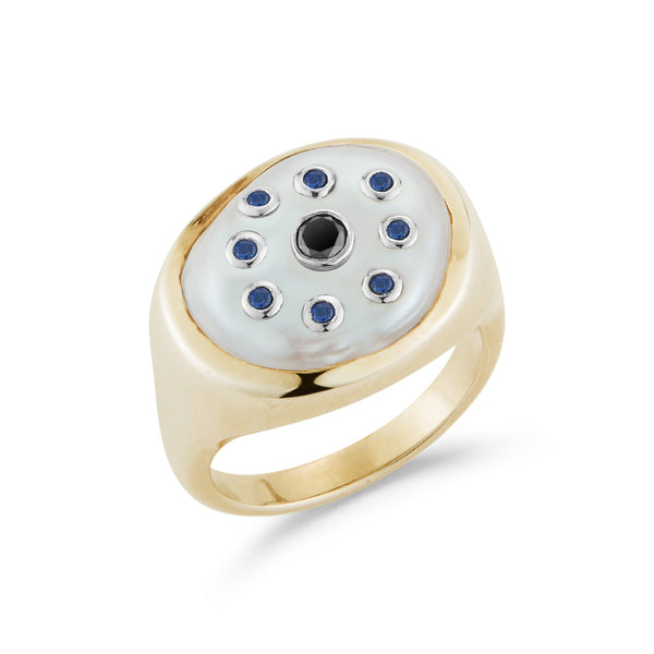 Les Yeux Signet Ring