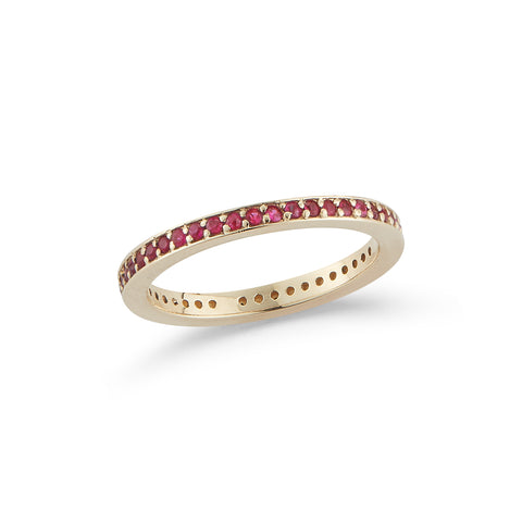 Les Classiques Channel Ruby Ring
