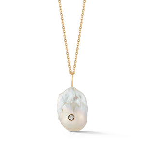 Custom Couplet Baroque Pearl Necklace